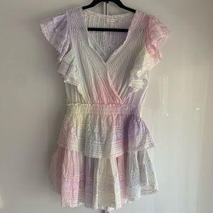 Loveshackfancy Gwen Dress, Rainbow, S